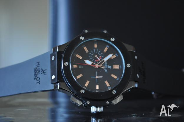 Hublot watch, hardly used. Excellent condition