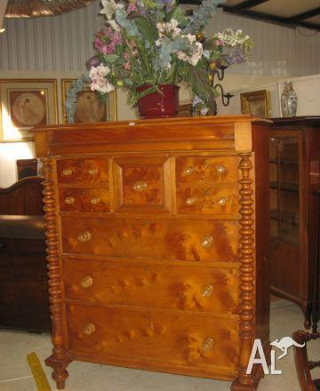 HUON PINE WANTED ANTIQUE FURNITURE in ROYAL PARK, South Australia for