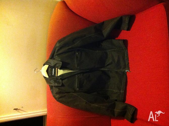 Huski Suede Leather Jacket