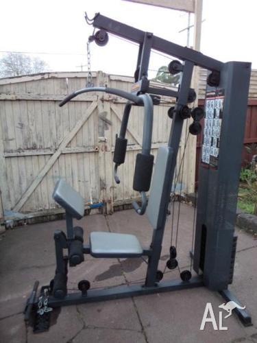 Hyper extension home gym set for sale in sandringham victoria