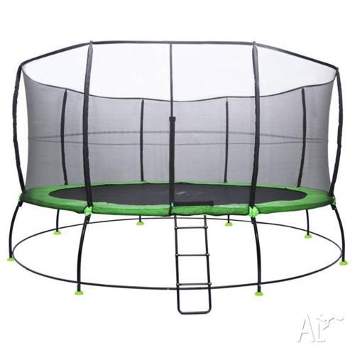 Hyperjump 16ft Spring Trampoline