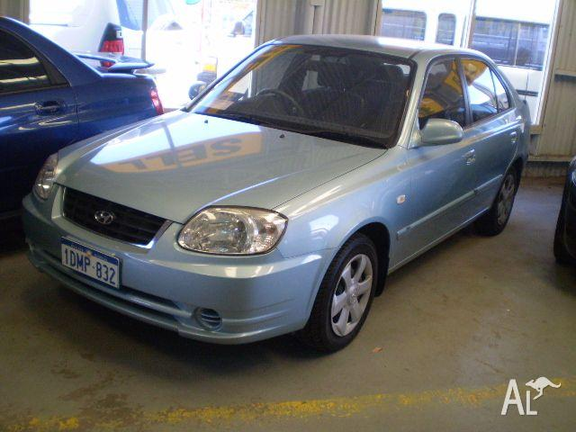 hyundai accent 1 6 ls 2005 for sale in mandurah western. Black Bedroom Furniture Sets. Home Design Ideas