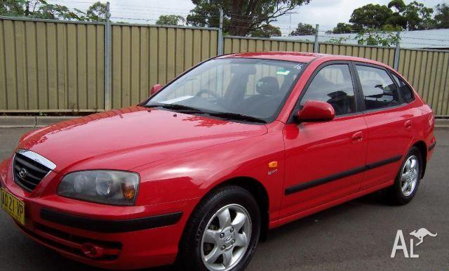 hyundai elantra 2 0 hvt xd 05 upgrade 2005 for sale in blacktown new south wales classified. Black Bedroom Furniture Sets. Home Design Ideas