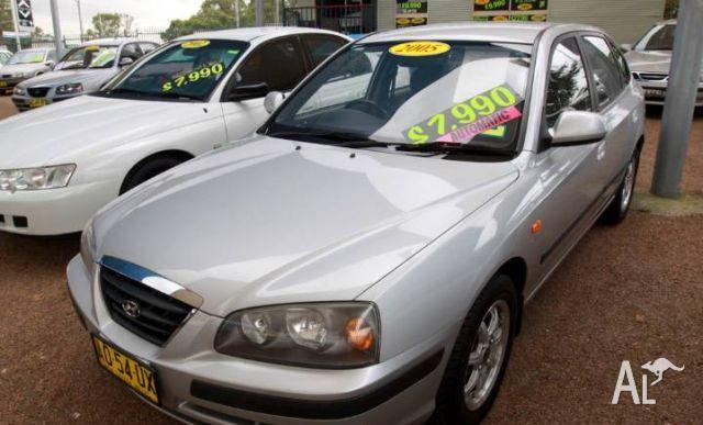 hyundai elantra fx 2 0 hvt xd my05 2005 for sale in minchinbury new south wales classified. Black Bedroom Furniture Sets. Home Design Ideas
