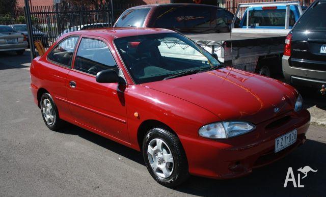HYUNDAI EXCEL GX X3  1999