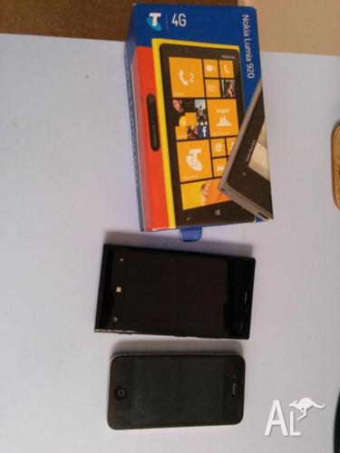 I am seling my nokia lunia 920 and iphone