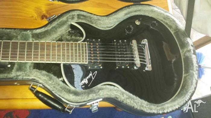 ibanez arz400bk black 7 string guitar for sale in ashtonfield new south wales classified. Black Bedroom Furniture Sets. Home Design Ideas