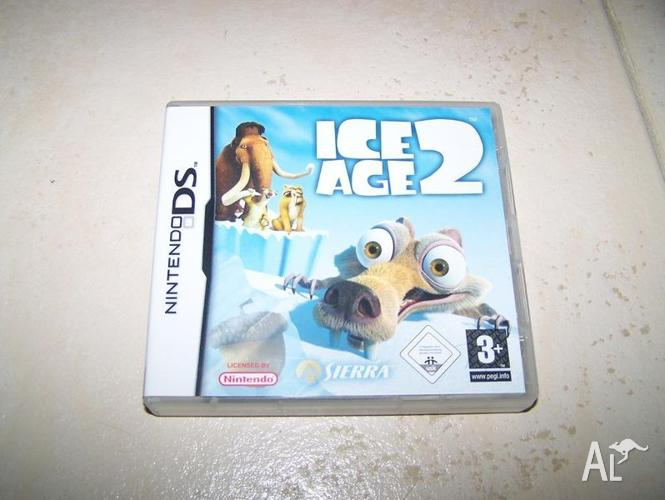 Ice Age 2 nintendo DS game