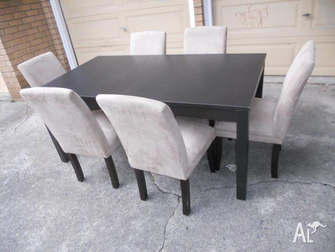 ikea dining table and 6 fantastic furniture chairs can