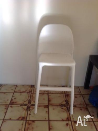 IKEA junior chair white