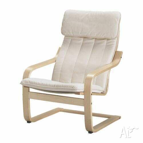 Ikea Poang Chair And Footstool For Sale In Ascot Park