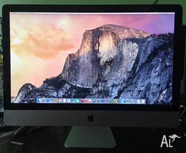 iMac 27-inch i5 2.8G 4G Ram 1G 5750M 1TB HDD looks new
