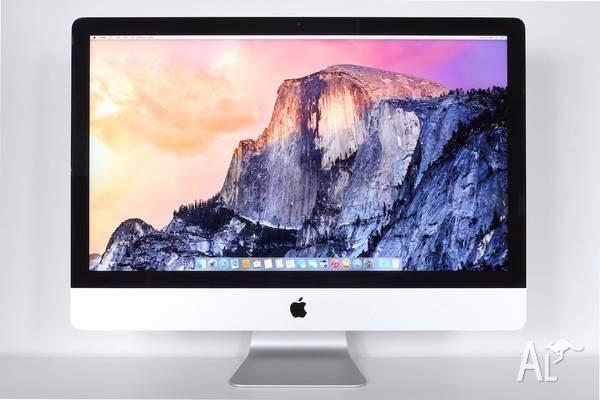 iMac (27-inch, Mid 2011) - excellent condition