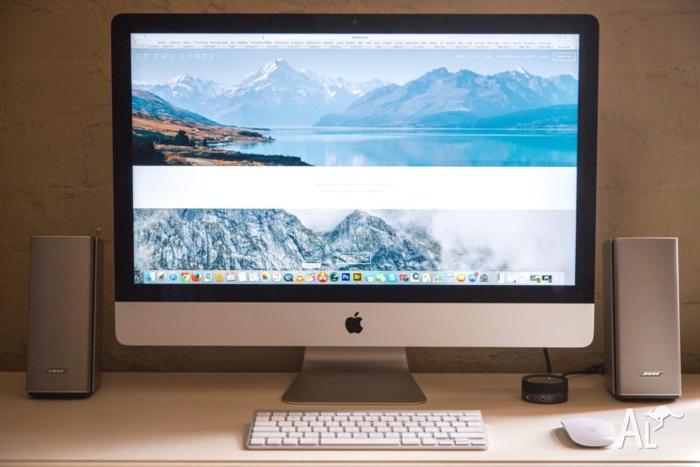 iMac 27'' 3.5GHz i7 16GB ram 1TB Fusion + AppleCare Dec