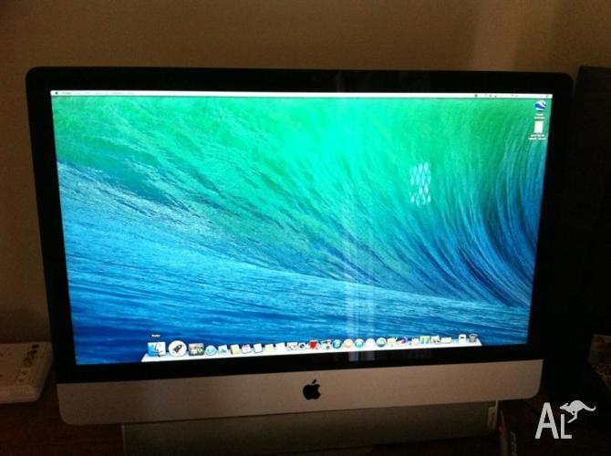 iMac 27 inch Mid-2010, i3, 3.2GHZ, 8GB RAM, 3TB HDD