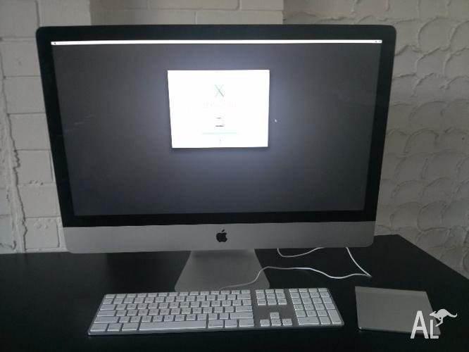 iMac 27inch 2013 Model 3.2Ghz Quad Core Intel i5 8GB