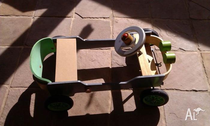 Indoor / Outdoor Toy Car - 2 years +