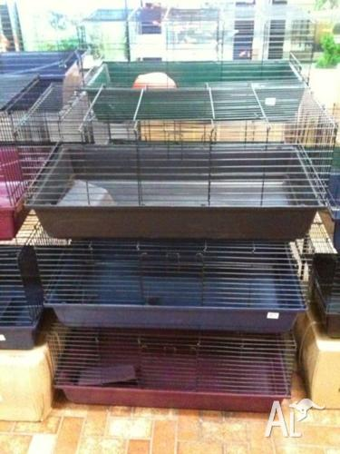Indoor Rabbit Guinea Pig Cage Hutch 100cm x 54cm x 46cm