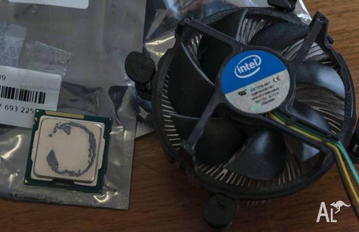 Intel Core i7 3770k CPU + Cooler