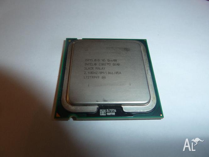 Intel CPU Core 2 Quad, RAM and CPU Cooler