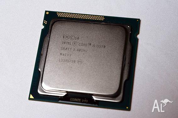 Intel i5 3570 Quad core CPU
