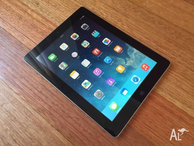 iPAD 2 16gb WIFI BLACK. WITH WHITE BACK COVER, CHARGER