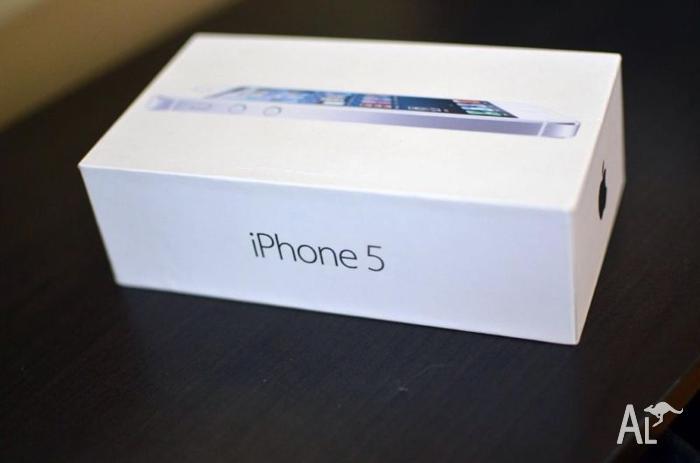 iPhone 5 32gb White unlocked VGC