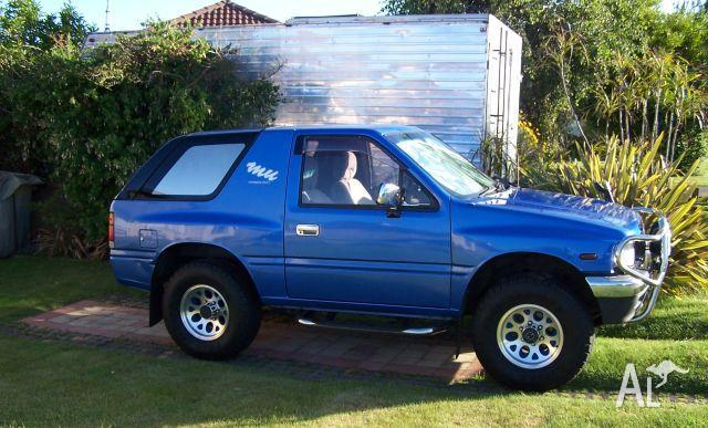 Isuzu Mu Mysterious Utility Other 1993 For Sale In