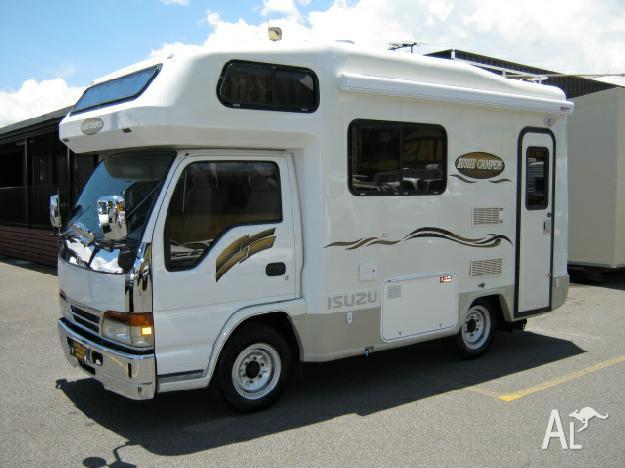 8c904b9eb2 ISUZU NHR150 ELF CAMPERVAN for Sale in CAIRNS
