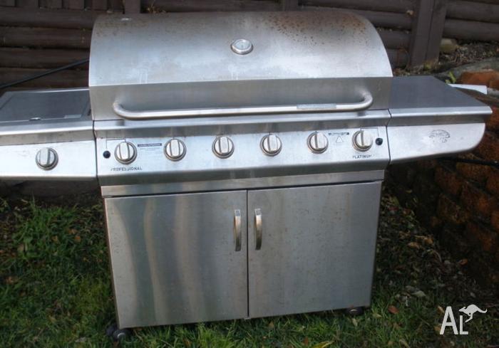 Jackaroo Barbecue BBQ 6 burner, Wok burner, Grilles &