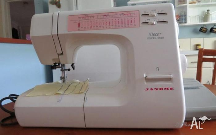 Janome Decor Excell 5018 Sewing Machine