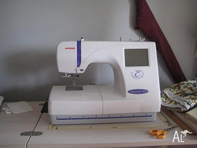 Janome Embroidery Machine - Memory Craft 300e