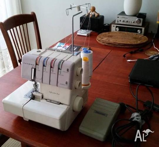 JANOME Overlocker 434D Differential feed
