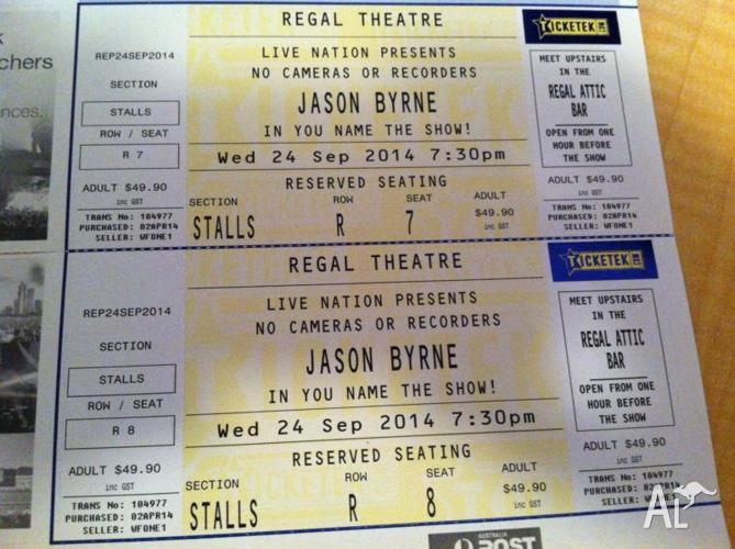 Jason Byrne Regal Theatre