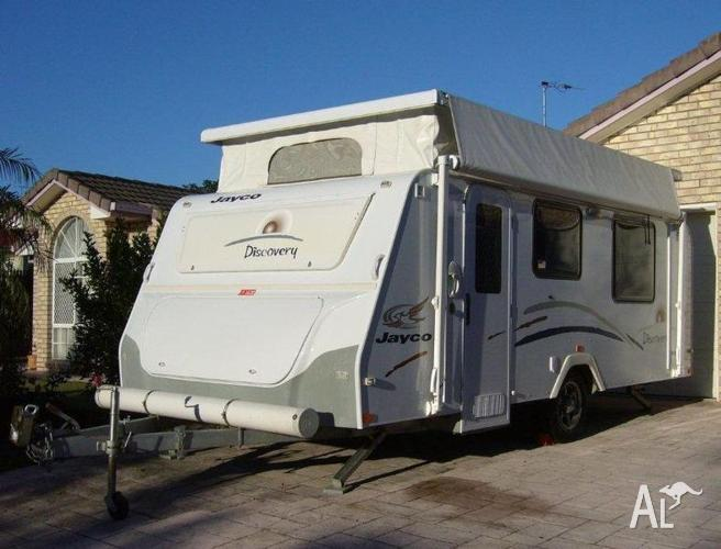 Jayco Discovery Pop Top Caravan, with registration, as