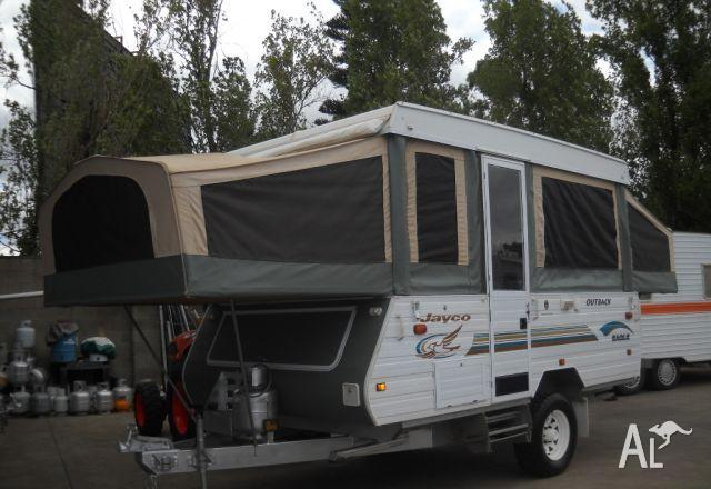 Jayco Eagle Outback Camper Off Road 12'6 X 7