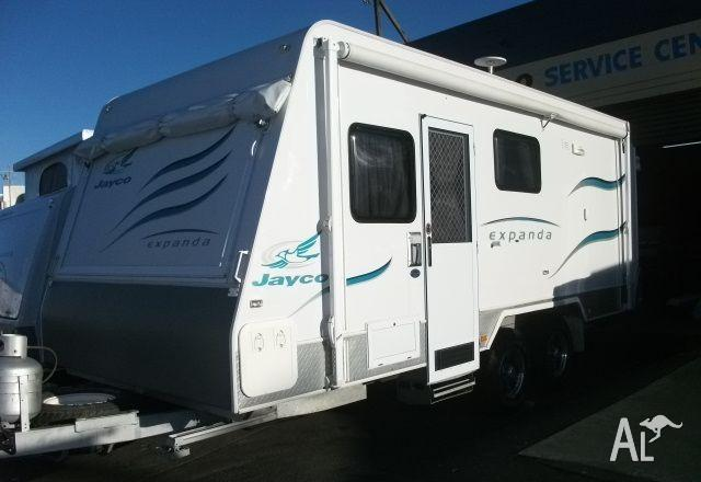 Luxury 2008 Jayco Expanda 16493 Poptop Hard Lid Queen And Double Beds Respectively, Shower And Toilet Dual Electric And Gas Hot Water 90ltr 3way Fridge, Grill And Cooktop Plus Microwave Twin Water Tanks With Drinking Water Fountain Stereo