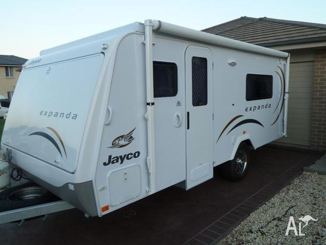 Fantastic Jayco Expanda Caravan Bed End Flys Soft Top Queen Size  EBay