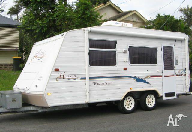 Simple 2010 Jayco Starcraft Caravan For Sale In Cairns