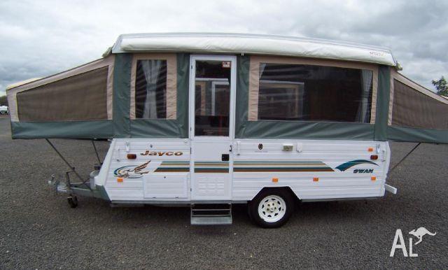 Fantastic Jayco Swan Camper  Eastern Caravan Hire Self Tow Bayswater