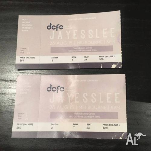 Jayesslee Live In Melbourne 2015