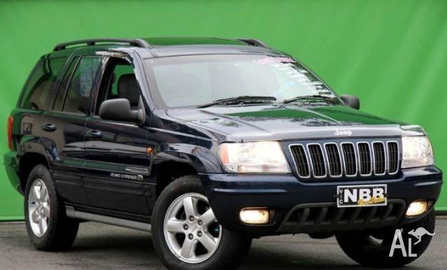jeep grand cherokee overland 4x4 wg 2002 for sale in. Black Bedroom Furniture Sets. Home Design Ideas