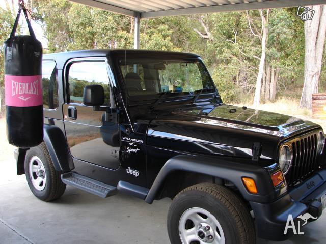 Jeep Wrangler Tj Sport 01 For Sale In Gidgegannup