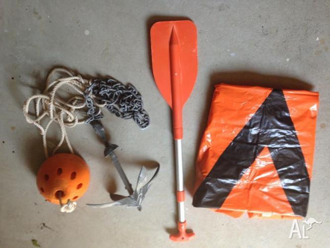 Jet Ski Anchor, V Sheet, Paddle