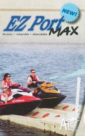 Jet Ski Dock - Ez Port Max Drive On Docking System