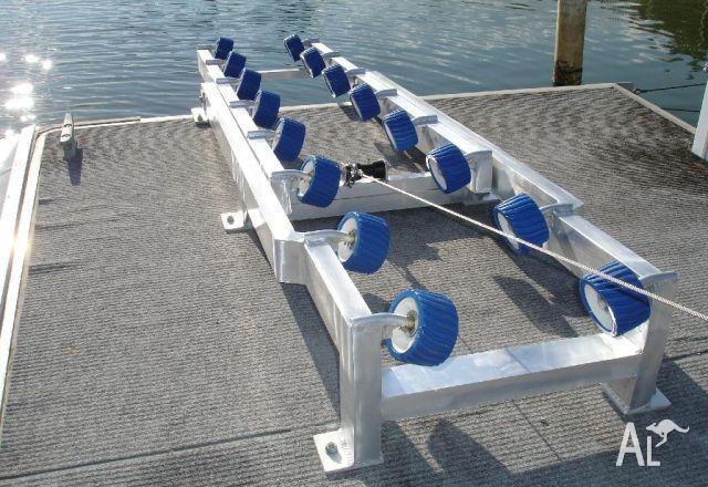 Jet Ski Roller System & Winch Multi Roller
