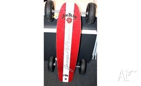 Jim Beam branded, FiiK Electric skateboard