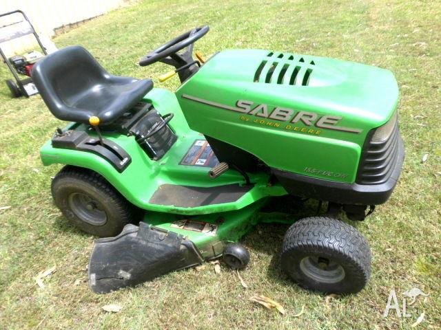 John Deere Sabre Lawn Tractor Ride On Mower 1538hs