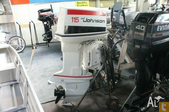 JOHNSON 115HP OUTBOARD for Sale in CROYDON, New South Wales