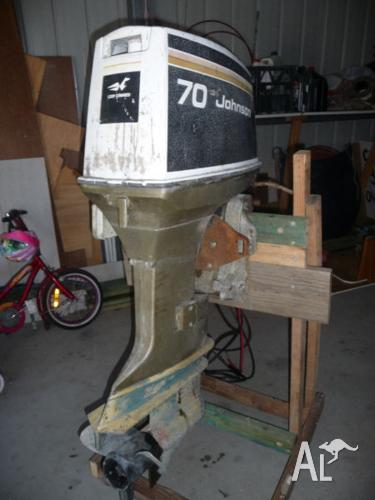 Johnson 70hp Outboard Motor For Sale In Booral Queensland